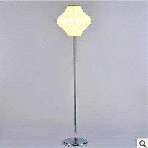 Moderne und Minimalistische unbändigen Seide Lampe Stehleuchte Schlafzimmer Wohnzimmer Das hotel zimmer, gelbe Lampe