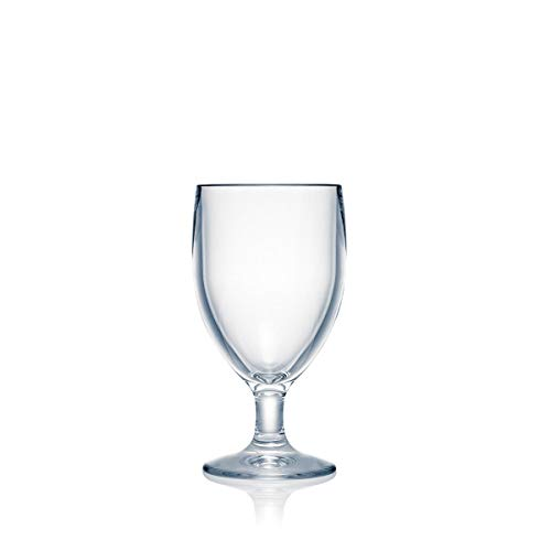 Strahl Design+ Contemporary Water Soda Goblets, 10-Ounce, Set of 4
