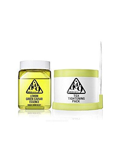 NEOGEN-Code-9-Lemon-Green-Caviar-Essence-Tox-Tightening-Pack-Kit