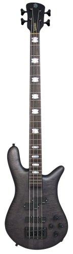 Spector Euro4LX Classic Bass Guitar (Matte Black Stain) (Spector Euro Bass)