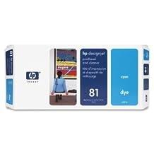 HP Cyan Printhead/Cleaner - Inkjet - 1000 Page - Cyan - 1 (Catalog Category: ...