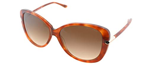 Tom Ford Women's TF324 Sunglasses, Havana (Tom Linda Ford)