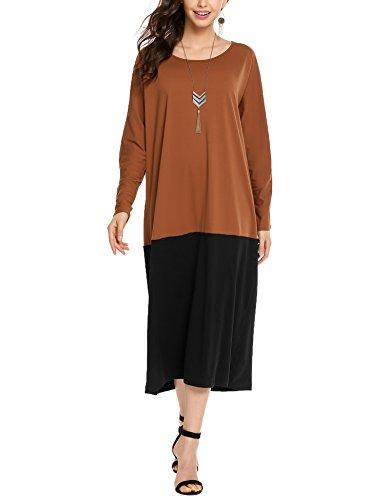 スキッパーチューブ課すBeyove DRESS レディース US サイズ: M
