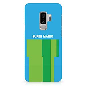 Loud Universe Mario Brother ingame Samsung S9 Plus Case Original Style Samsung S9 Plus Cover with 3d Wrap around Edges