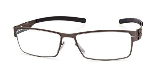 IC! Berlin Eyeglasses Peter C. XM0070025025T020071F Graphite Optical Frame ()