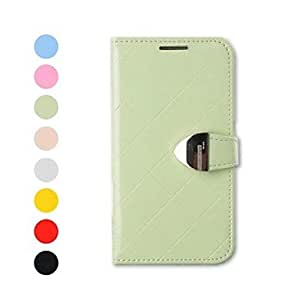 LIMME ships in 48 hours Topcel? Flower Show Protective PU Leather Full Body Case with Stand and Card Slot for iPhone 4/4S (Assorted Colors) , Green