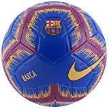 (Nike FC Barcelona Soccer Strike Ball for Kids Size 4 DEEP Royal/University Gold)