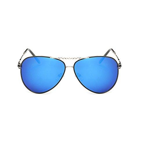 Marco de Gafas Color Metálico Los del TLMY De Azul Green Polarizadas Hombres Sol Sol Gafas De PWCXq