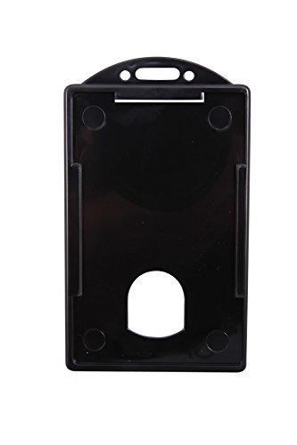 SICURIX Badge Dispensers, Horizontal, Black, 25 Count, Bu...