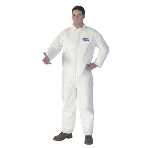 KIMBERLY-CLARK PROFESSIONAL KLEENGUARD A40 Liquid & Particle Protection Coverall To-Go KCC 44334