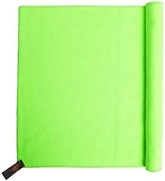 CQIANG 速乾性タオル、究極の極細スーパーソフトファイバー冷却タオル、夏の屋外旅行フィットネスヨガに最適、もっと色彩、32 * 76 cm (Color : Green, Size : 32*76cm)