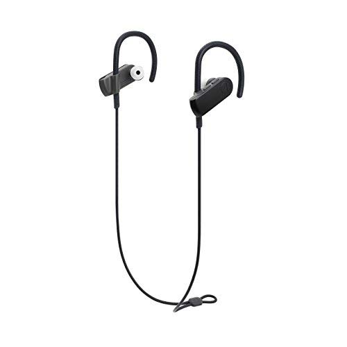 Audio-Technica ATH-SPORT50BTBK SonicSport Bluetooth Wireless In-Ear Headphones, Black