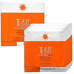 TanTowel TanTowel Plus Half Body – 10 Pack – 10 pack, Health Care Stuffs