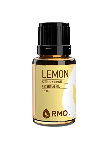 Rocky Mountain Oils - 100% Pure Lemon Essential Oil - Promotes Energy, Alertness, and can Help in Purifying the Air; Best For Diffusion and Topical Application - 15 ml