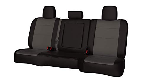 Custom ShearComfort Waterproof Cordura Seat Covers for 2017 Dodge Ram Pickup 1500 - Compatible w/Side Airbags and Heated Seats