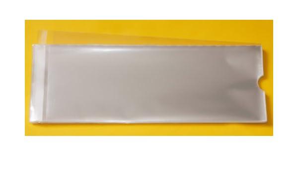 Celloexpress® 100 bolsas de celofán, tamaño A3, con cierre ...