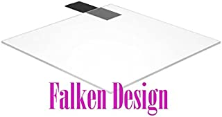"product image for Falken Design: 3"" x 3"" - 1/8"" (0.118"") Clear Acrylic Sheet + Dispatch The Same OR Next Business Day! / Plexiglass Lucite"
