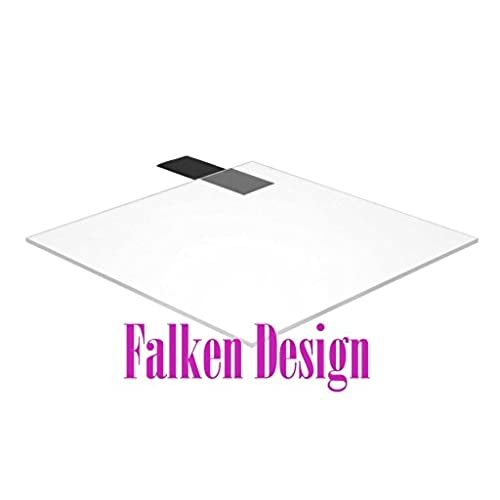 "Top Falken Design: 12"" x 18"" - 1/4"" Polycarbonate Clear + FREE CUT TO SIZE (via ""contact seller"") + DISPATCH THE SAME OR NEXT BUSINESS DAY! / Lexan Makrolon ( 0.236"" ) for cheap"
