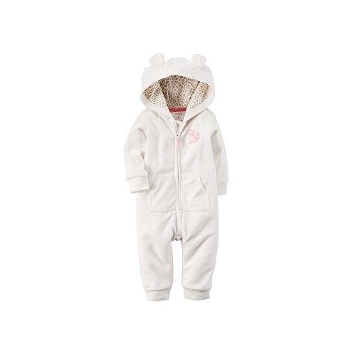 Carters Hooded Fleece Jumpsuit Romper