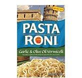 - Pasta Roni Garlic & Olive Oil Vermicelli Pasta, 4.6 oz