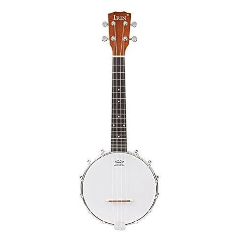 MonkeyJack Durable 4 Strings Banjo for Adult, Kids Musical Instrument 24.4inch (Children Banjo)
