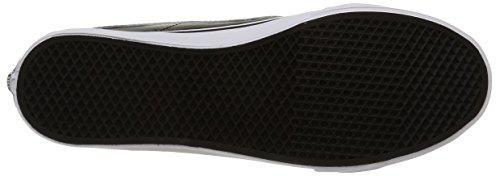 Negro Altas Black Mesh Adulto Unisex Vans White Zapatillas Cutout Slim Sk8 hi XvBWwq84U