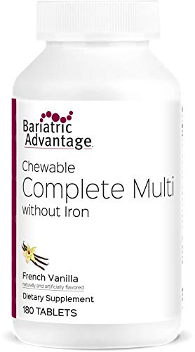 Bariatric Advantage - Complete Chewable Multivitamin - French Vanilla, 180 Count