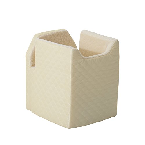 Pawhut Quilted Pet Booster Seat