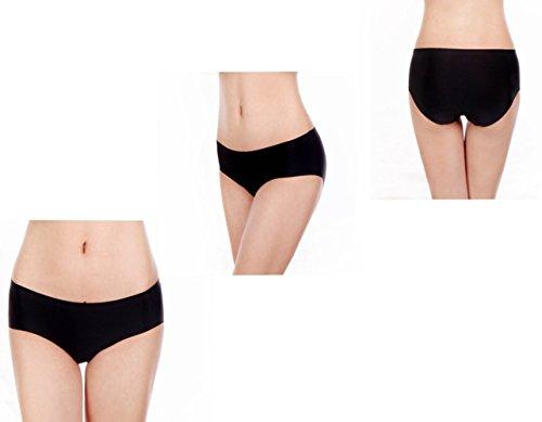 Srizgo Panty Damen 6er Pack soft angenehm nahlos seamless bequem mit Doppelkante Unterhose Silps Damen