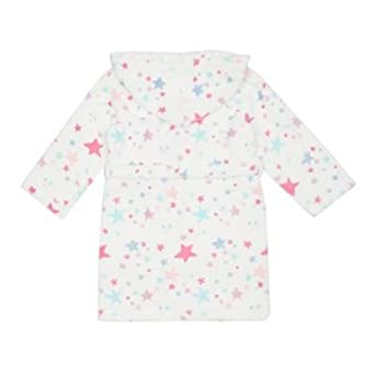 5ddb8d5a7 Debenhams Kids Girls' Star Dressing Gown Age 1-14 Years, White: bluezoo:  Amazon.co.uk: Clothing
