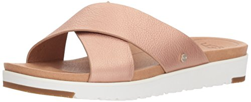 Kari Frauen UGG Metallic Leather Sandal Pink U65Upaxw