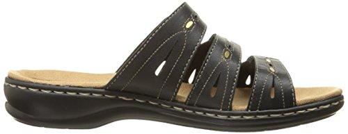 Clarks Leisa brocha vestido de la sandalia Black