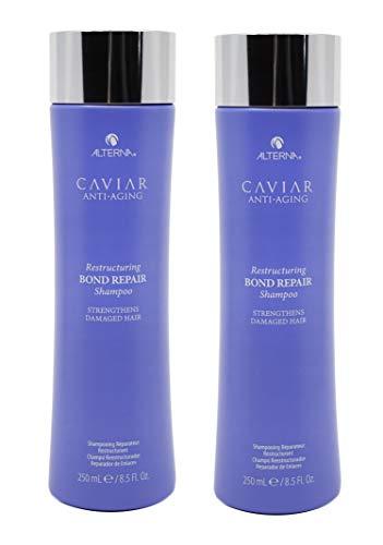 (2 Pack) 8.5 Fl Oz Alterna Caviar Anti-Aging Restructuring Bond Repair Shampoo