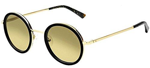 Etnia Barcelona MIRAMAR bkgd (Black - Gold with Grey Gradient with Mirror effect - Etnies Sunglasses