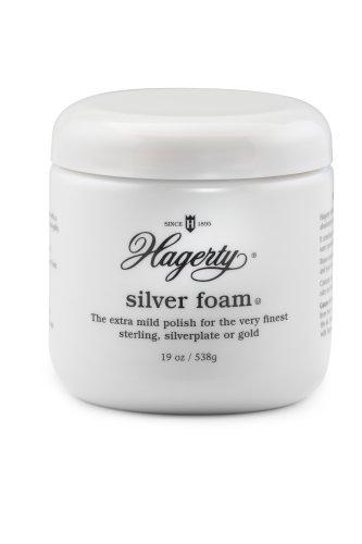Hagerty 11360 Silver Foam Mild Silver Polish, 36 Ounces by W. J. Hagerty