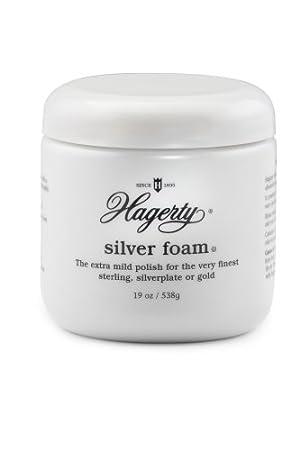 Hagerty 11070 Mild Silver Polish, 8 oz, White W. J. Hagerty