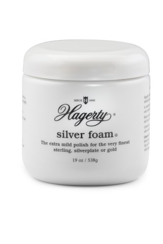(Hagerty Silver Foam Silver Cleaner, 19-Ounce)