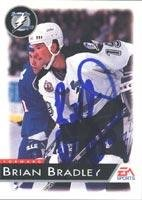 Brian Bradley Tampa Bay Lightning 1995 EA Sports Autographed Card. This item comes with a certificate of authenticity from Autograph-Sports. Autographed ()