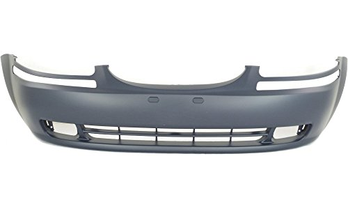 New Evan-Fischer EVA17872019644 Front BUMPER COVER Primed Direct Fit OE REPLACEMENT for 2004-2007 Chevrolet Aveo 2007-2008 Chevrolet Aveo5Replaces Partslink GM1000728