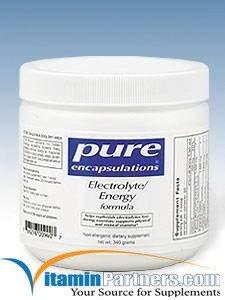 Pure Encapsulations - Electrolyte/Energy Formula 340 Grams