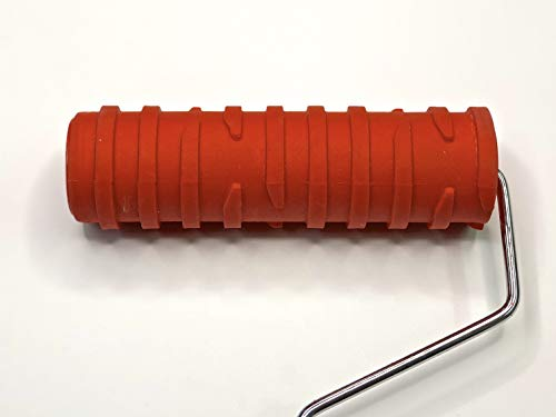 "Decorative Art Roller - Broken Lines Pattern - 7"" Texture Roller"