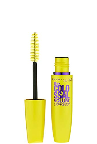 Maybelline Makeup Volum' Express The Colossal Washable Mascara, Glam Brown Mascara, 0.31 fl oz