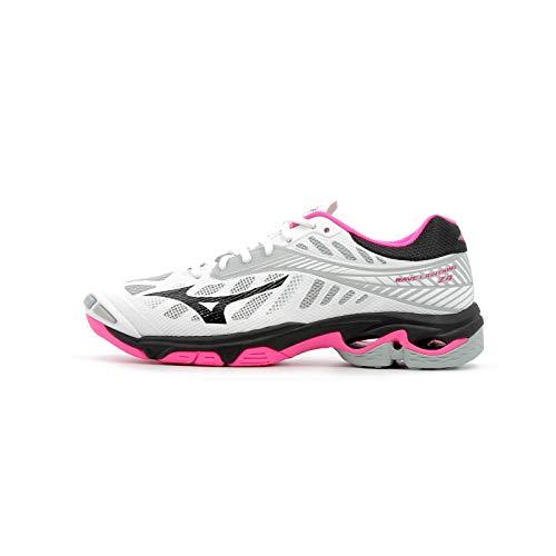 Pink Wave Blk Mizuno Glo Basse Lightning 001 Wht Multicolore Z4 Ginnastica Donna da Scarpe FqBPqZ