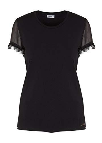 Femme Jeans 1 Noir Liu T Jo shirt HwBgBq