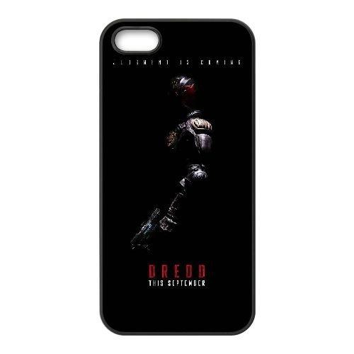 X2N28 dredd R8N4KM coque iPhone 4 4s cellule de cas de téléphone couvercle coque noire KM6SDN8BE