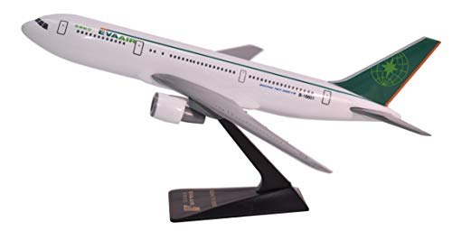 Eva Air 767-300 Airplane Miniature Model Snap Fit Kit 1:200 Part# ABO-76730H-001