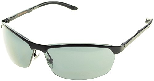 Dockers Mens Matte Blade Sunglasses One Size Black/smoke - Sunglasses Dockers Black