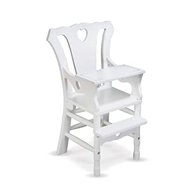 Melissa Doug Deluxe Wooden Doll High Chair by Melissa & Doug