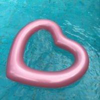 Integrity Co Flotador Inflable en Forma de Amor Corazon tamaño Gigante para la Piscina o Playa