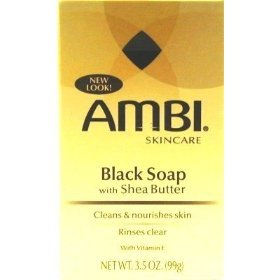 Ambi Skin Care Black Soap With Shea Butter - 9